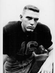 Don Holleder was a football star for Aquinas Institute