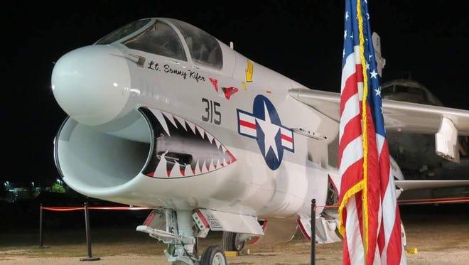 Fully restored A-7B Corsair II  lists Lt. Sonny Kifer as dedicated pilot.