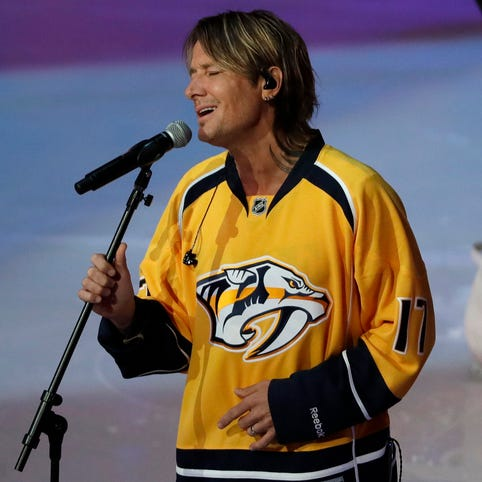 Predators hit the perfect notes with mystery anthem singers