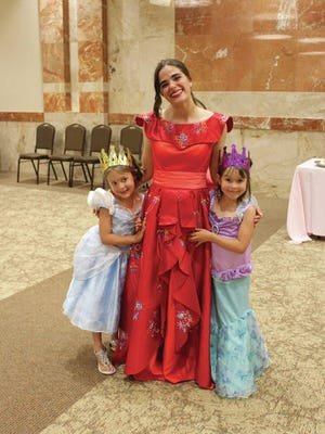 Two little princesses pose with a grown-up princess during OK Music's annual Prince and Princess Tea. This year's tea is set for 1-3 p.m. July 18 at Father Lynch Hall. Tickets are $10 per person. Courtesy