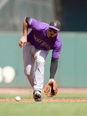 A season into an eight-year, $260 million contract, Colorado Rockies third baseman Nolan Arenado expressed concern this week with his front office over his name being mentioned in offseason trade talks.
