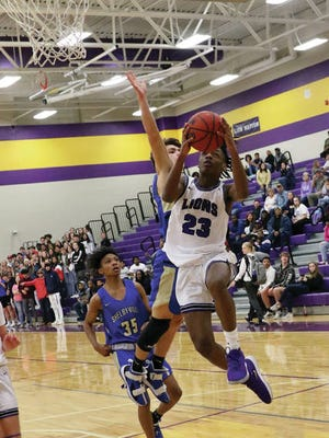 Q Martin (23) led the way offensively with 16 points, converting 12 of 14 free throws on the night, as host Columbia Central defeated Shelbyville 74-63 Tuesday for its third straight District 8-AAA victory.