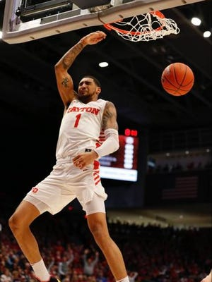Dayton sophomore Obi Toppin was the only unanimous selection to The Associated Press all-America men's basketball team.