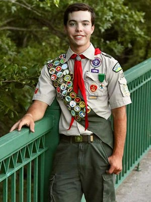 Derek Eichman will receive Eagle Scout later this month.
