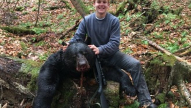 Swatara Township resident Kirby Kornhaus shot this bear on Nov. 18, 2017.