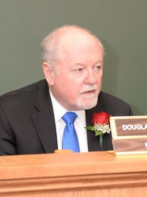 Hillsdale Mayor Douglas Frank