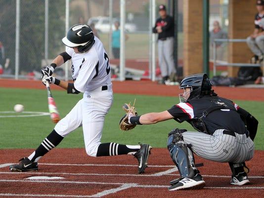 Rider baseball vs. Colleyville Heritage