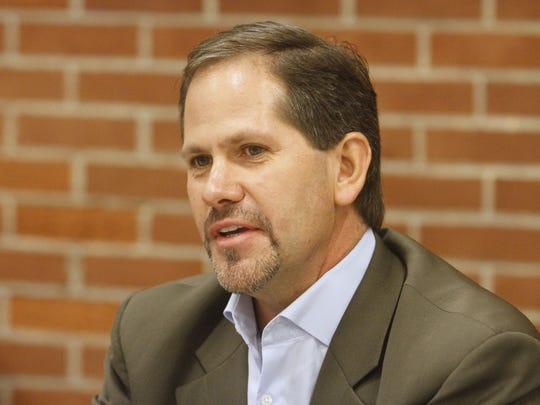 Knute Buehler appears before the Statesman Journal editorial board Monday, Oct. 15, 2012.