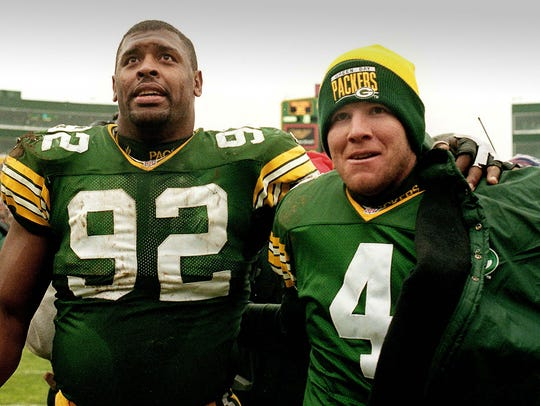 Reggie White was No. 1 among defensive linemen and Brett Favre No. 8 among quarterbacks on SI's list of the NFL's best of all-time in a list released in 2017.