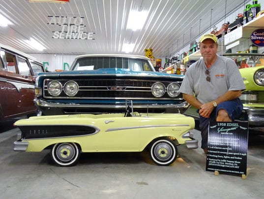 hanks garage showcases edsel collection
