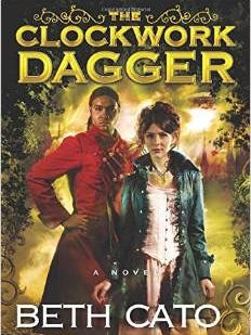 """Cover of """"The Clockwork Dagger"""" by Beth Cato."""