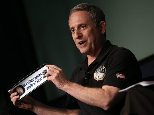 Alan Stern, NASA's New Horizons chief investigator