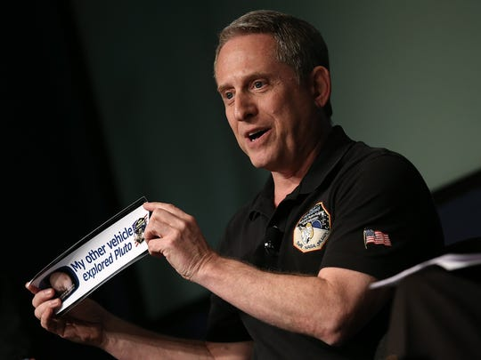 Alan Stern, principal investigator of NASA's New Horizons