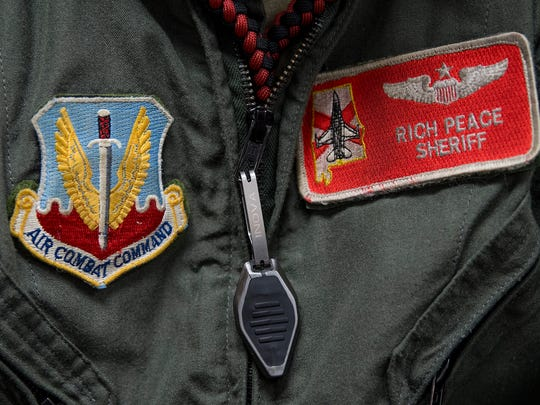 Major Rich Peace at the 187th Fighter Wing of the Alabama