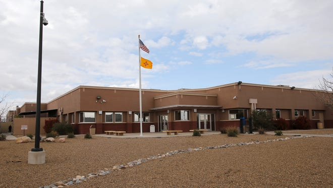 San Juan County Adult Detention Center as seen in April in Farmington.