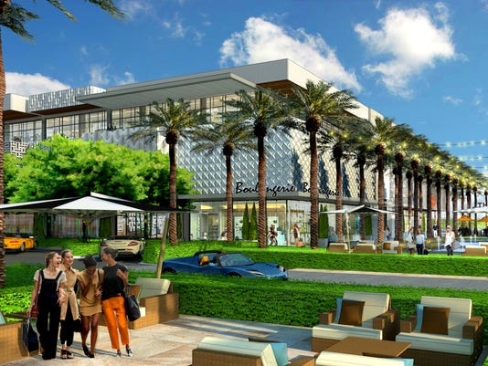 Palmeraie luxury shops in Scottsdale