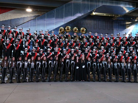 Somerville High School marching band earn 2nd place