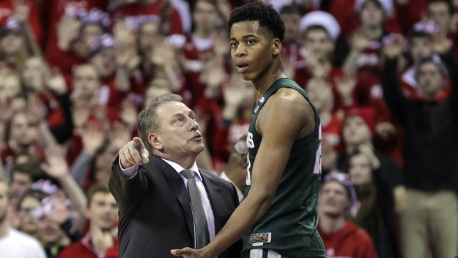 Deyonta Davis decided to leave Tom Izzo and Michigan State for the NBA draft. He'll now have to prove himself in the pros.