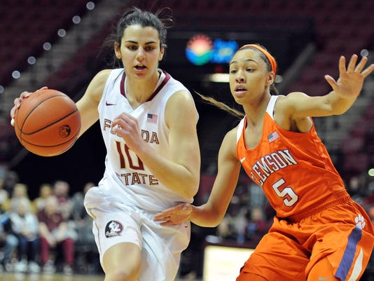 NCAA Womens Basketball: Clemson at Florida State