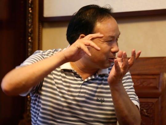 Wang Lianzeng is president and founder of Huayu Group, Handan, China.
