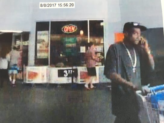 Ashland City Police are searching for this suspect,