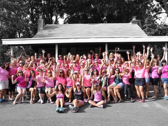 One-hundred-thirty members of the Mullica Hill Women's