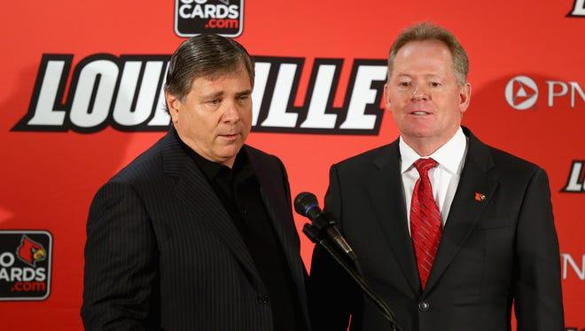 Louisville athletic director Tom Jurich.