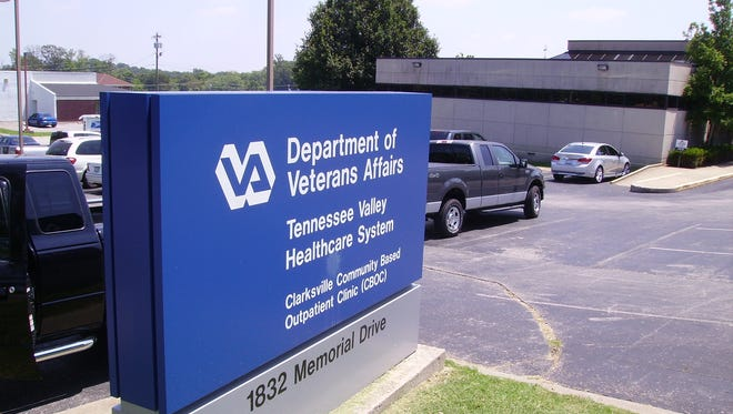 Clarksville's VA clinic at 1832 Memorial Drive