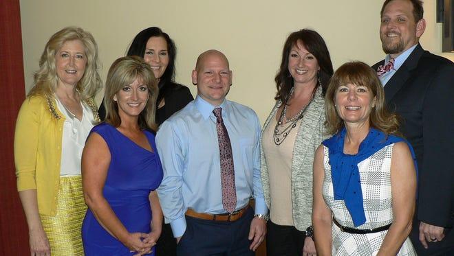 Judy Heinrich, Jillian Payne, Dr.Martin Morrison III, Angie and Scott Perryman, Jenifer Daniels and Terrie Sigel.