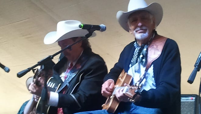 Pictured, from left; Dave Alexander and Tommy Allsup.