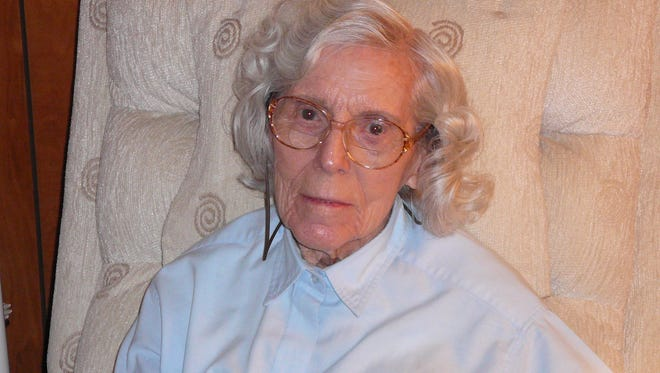 Edith Reed, wife of the late space pioneer Orion Reed, died Feb. 8 on Merritt Island. She was 101.