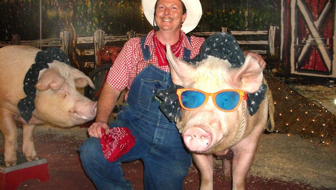 Les Kimes and the Pork Chop Revue will be one of the main daily attractions at the Sandusky County Fair Aug. 22-27.