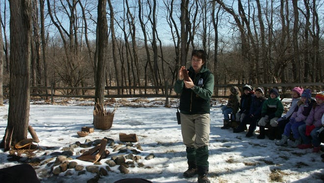 Maple sugaring demonstrations at the Environmental Education Center, 190 Lord Stirling Road, Basking Ridge, run every weekend through Sunday, March 11.