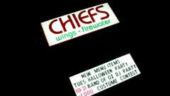 Chief's Wings and Firewater in Greenville closes permanently
