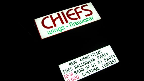 Chief's Wings and Firewater on Congaree Road in Greenville.
