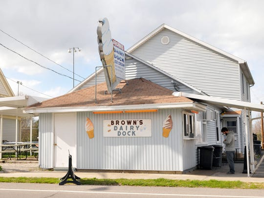 Brown's Dairy Dock is located at 706 W. Main St. in Marblehead.