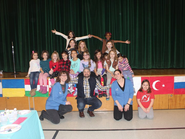 Girl Scout Brownie Troop #96518 from Boonton did their