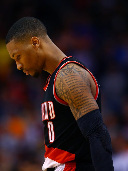 ef62922beae Damian Lillard tries 'to paint a picture' in rap career