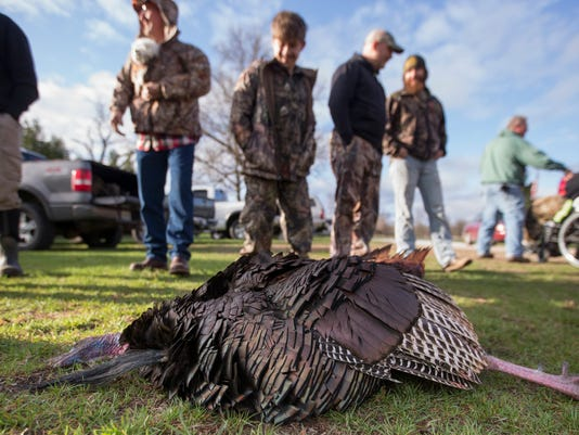Turkey Tracks provides terminally ill and hunters with special needs with a weekend turkey hunting get-away