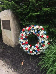 A scene from the Fishkill Memorial Day ceremony on