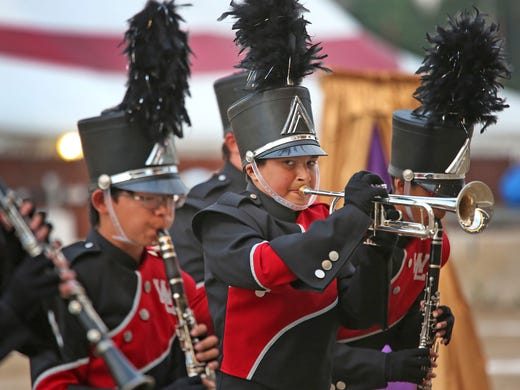 Tech High keeps it original at Band Day