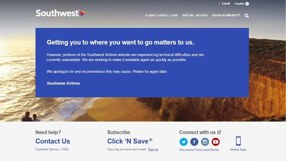 southwest airlines central issue problems evaluation and r Southwest airlines recently launched new branding for the airline  the heart  has always been central to southwest  customers' purchase criteria, innovate  to solve customer problems, and build advantage by accumulating customer data  and harnessing network  farewell toys r us, we will miss you.