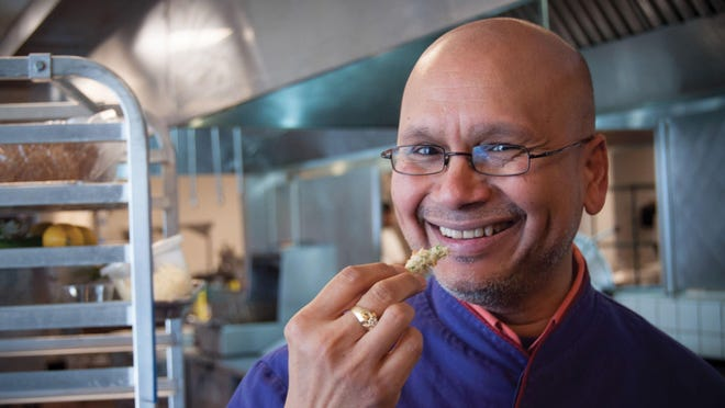Raghavan Iyer, the Mumbai-born author, cooking instructor and restaurant consultant, had potatoes on his mind, as he should while on a book tour with his new volume.