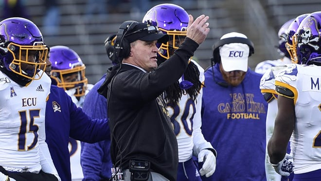 East Carolina head coach Mike Houston took to Twitter to support his players in the fight for social justice.