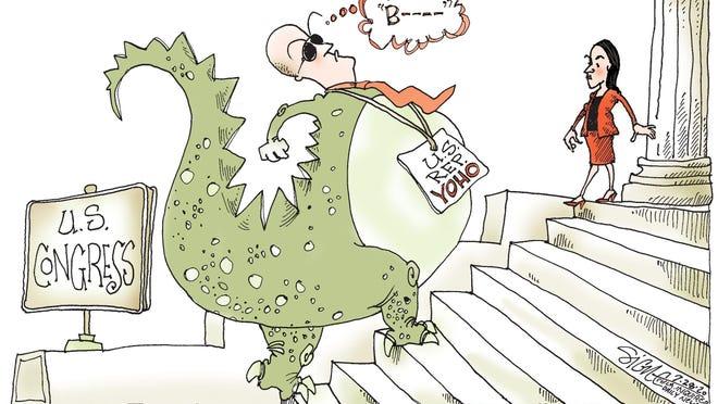 Signe cartoon\rTOON28\rDinosaur Yoho