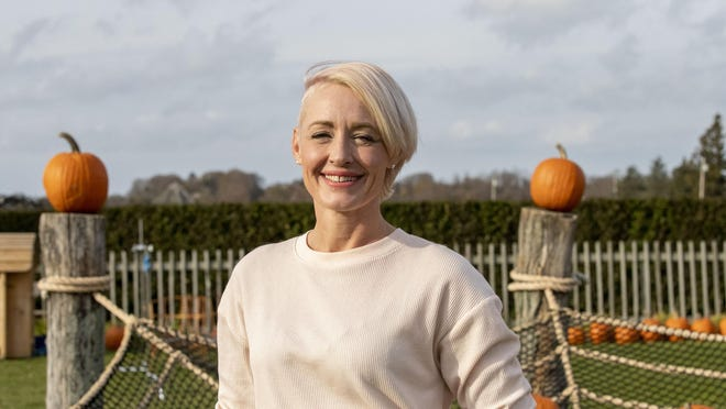"""Austinite Griffon Ramsey is a contestant on the Food Network's """"Outrageous Pumpkins."""""""