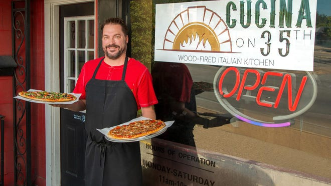 Cucina on 35th owner Jay McBride outside of his newly rebranded restaurant at 1608 W. 35th St.