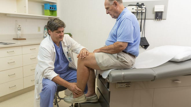 Orthopedic surgeon Dr. Edward Blocker is one of several specialists now seeing patients in Varnville.