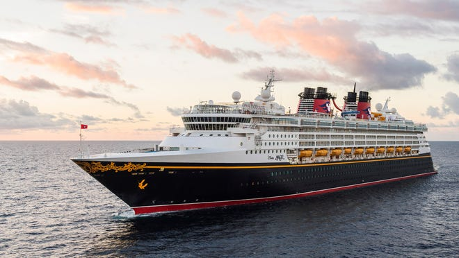 The crew of the Port Canaveral-based Disney Magic cruise ship helped rescue a passenger of a Royal Caribbean ship who was spotted in the water off Cozumel, Mexico.