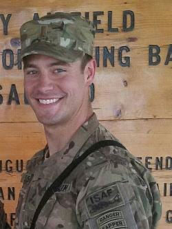 Justin Sisson was killed in action in 2013